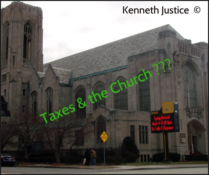 Has the time come.......to tax the Church???