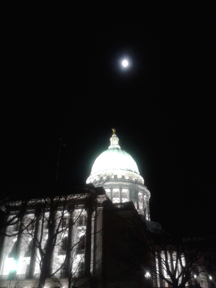 The Capitol Building in Madison Wisconsin
