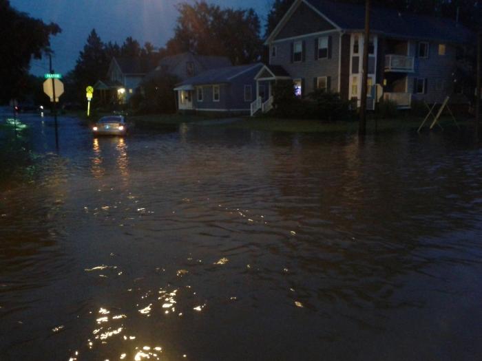 Flooding in my neighborhood 8/11/2014